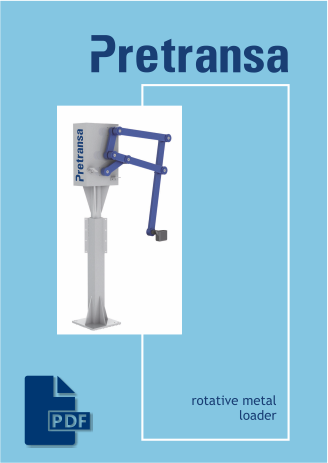 Pretransa Rotative Metal Loader