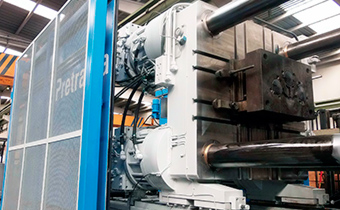 die casting machine pretransa